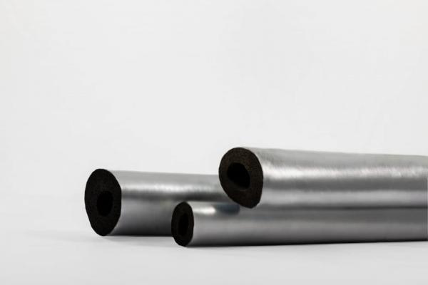 عایق های حرارتی الاستومری لوله ای با روکش آلومینیوم کلینت ونتا